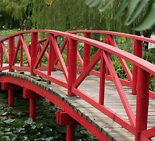 Red Bridge by Sheryle  Griffiths