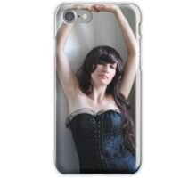 Black Corset 13 iPhone Case/Skin