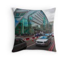 The Waspish Lloyds Bank Building London UK Throw Pillow