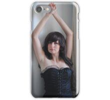 Black Corset 14 iPhone Case/Skin