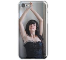 Black Corset 15 iPhone Case/Skin