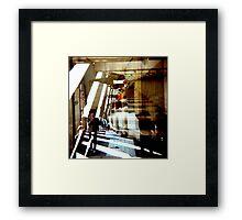 Conversation Among the Ruins Framed Print