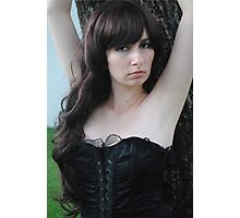 Black Corset 16 Photographic Print