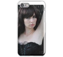 Black Corset 16 iPhone Case/Skin