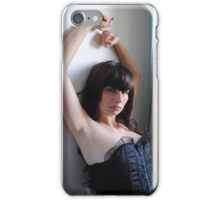 Black Corset 17 iPhone Case/Skin