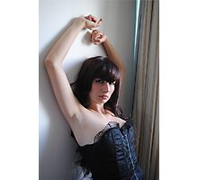 Black Corset 17 Photographic Print