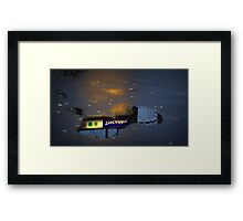 Is there no way out of the mind? Framed Print