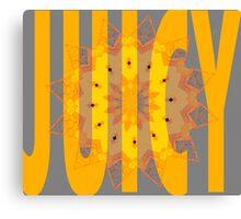 Juicy Crane Canvas Print