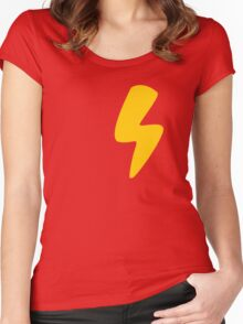 Lightning Women's Fitted Scoop T-Shirt