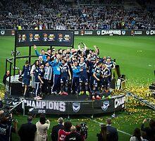 Melbourne Victory - Champions by Maciej Nadstazik