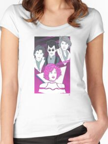Pretty In Pink (Pink Variant) Women's Fitted Scoop T-Shirt