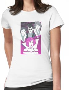 Pretty In Pink (Pink Variant) Womens Fitted T-Shirt