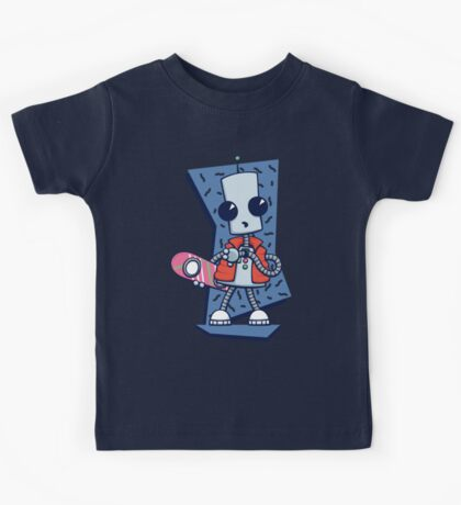 Ned the Time Traveller (1985) Kids Tee