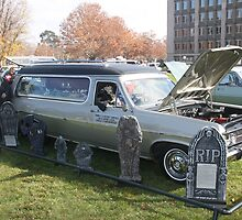 1967 HR Holden Hearse by Jason Fewins