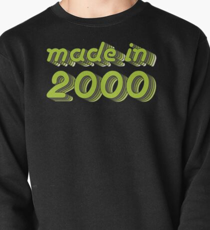 Made in 2000 (Green&Grey) Pullover