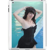 Black Corset 23 iPad Case/Skin