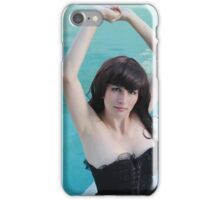 Black Corset 24 iPhone Case/Skin