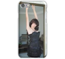 Black Corset 25 iPhone Case/Skin