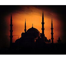 İstanbul 01 Sultanahmet Camii Photographic Print