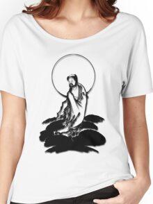 Moon Buddha Women's Relaxed Fit T-Shirt