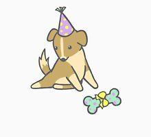 Birthday Pup Mens V-Neck T-Shirt