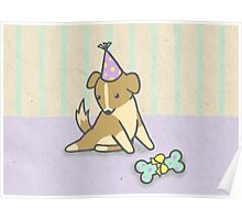 Birthday Pup Poster