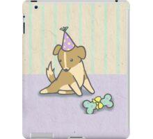 Birthday Pup iPad Case/Skin