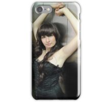 Black Corset 27 iPhone Case/Skin