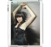 Black Corset 27 iPad Case/Skin