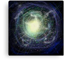 Space abstract fantasy Canvas Print