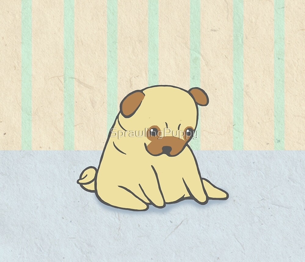 A Pug Named Waffle by Katie Corrigan