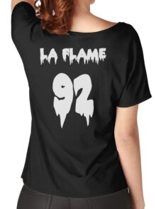 LA FLAMEEEE Women's Relaxed Fit T-Shirt