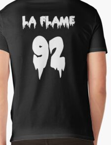 LA FLAMEEEE Mens V-Neck T-Shirt
