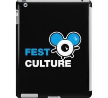 FestCulture Logo Original Blue - Dark iPad Case/Skin