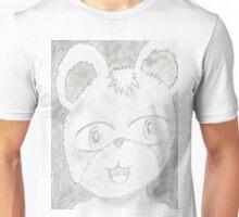 bear . pencil work of face's (3) Unisex T-Shirt