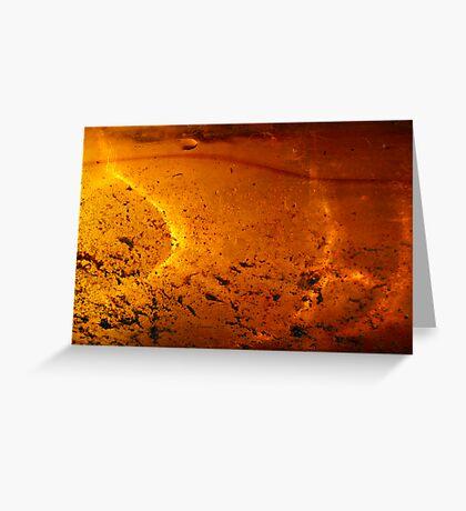 Solar Pond Greeting Card