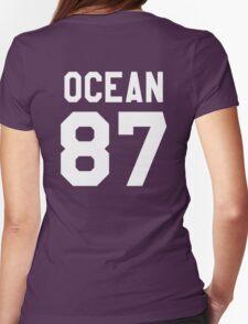 OCEAN 87 Womens Fitted T-Shirt