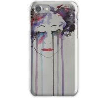 Coloured Tears iPhone Case/Skin