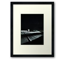 Milang Jetty by night Framed Print