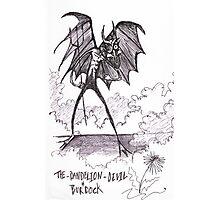 The Dandilion & Burdock Devil Photographic Print