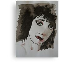 Punk girl Canvas Print