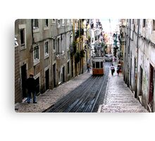 View of an old Lisbon Canvas Print