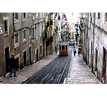 View of an old Lisbon Photographic Print