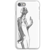 Mannequin in White. iPhone Case/Skin