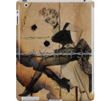 Marlene goes West iPad Case/Skin