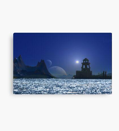 Marmoras Mine Light Canvas Print