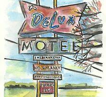 Delux Motel by Matt  Gaudian