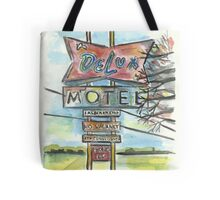Delux Motel Tote Bag