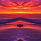 The eye of the sunset by Julia Harwood