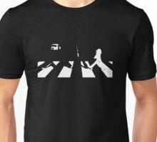 The Beatles - Abbey Road + White Unisex T-Shirt